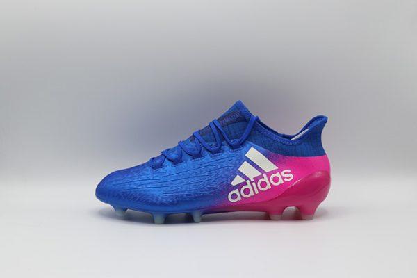 Ghete de fotbal Adidas X 16.1 FG albastru