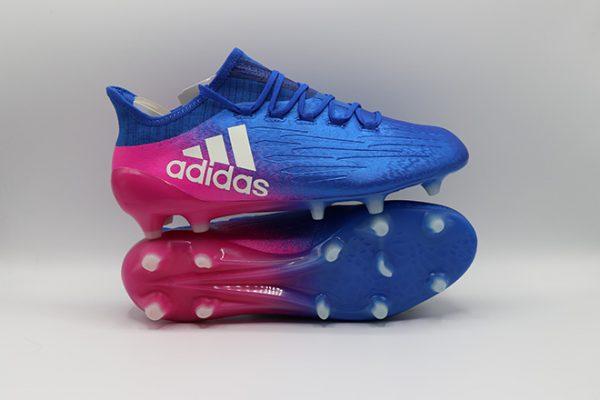 Ghete de fotbal online Adidas X 16.1 FG albastru