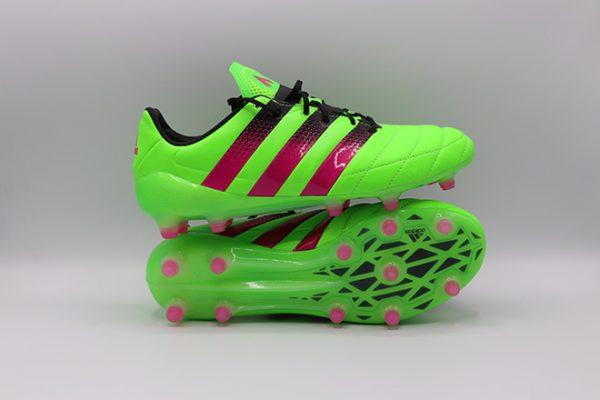 Ghete de fotbal online Adidas Ace 16.1 FG piele cangur