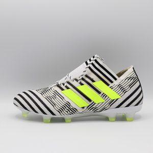 Ghete de fotbal Adidas Nemeziz 17.1 FG alb