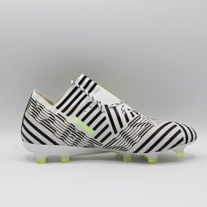 Ghete de fotbal profesionale Adidas Nemeziz 17.1 FG alb