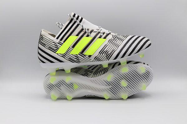 Ghete de fotbal online Adidas Nemeziz 17.1 FG alb