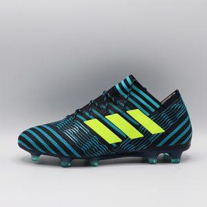 Ghete de fotbal Adidas Nemeziz 17.1 FG albastru