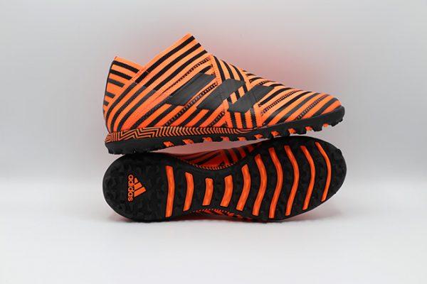 Ghete de fotbal Adidas Nemeziz Tango 17+ 360 Agility TF side